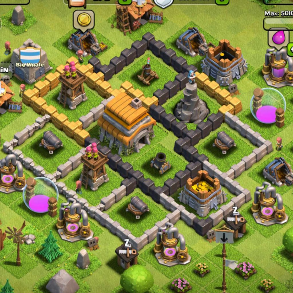 Online Clash of Clans