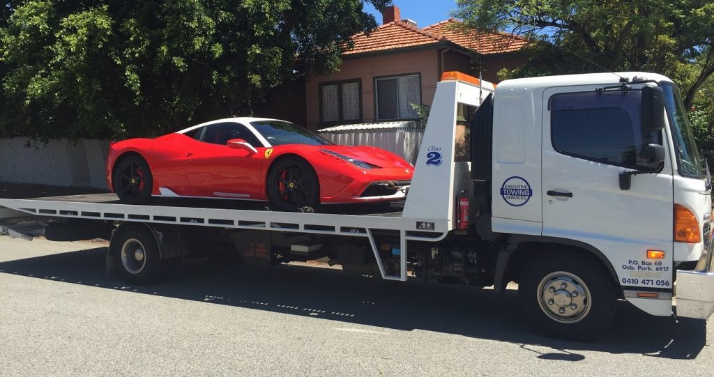 truck towing service